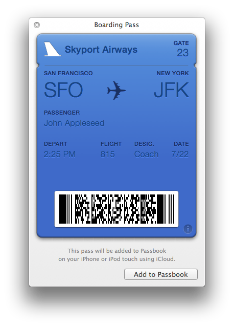 Apple wallet pass png. S passbook strategy ignores