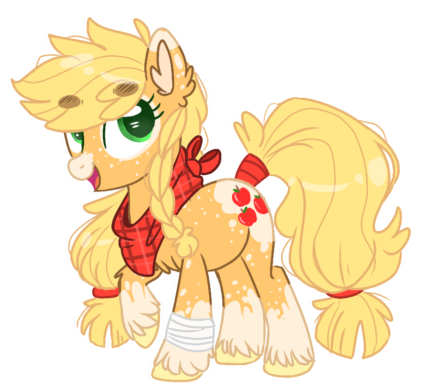 Applejack drawing human. Mlp redesigns by wanderingpegasus