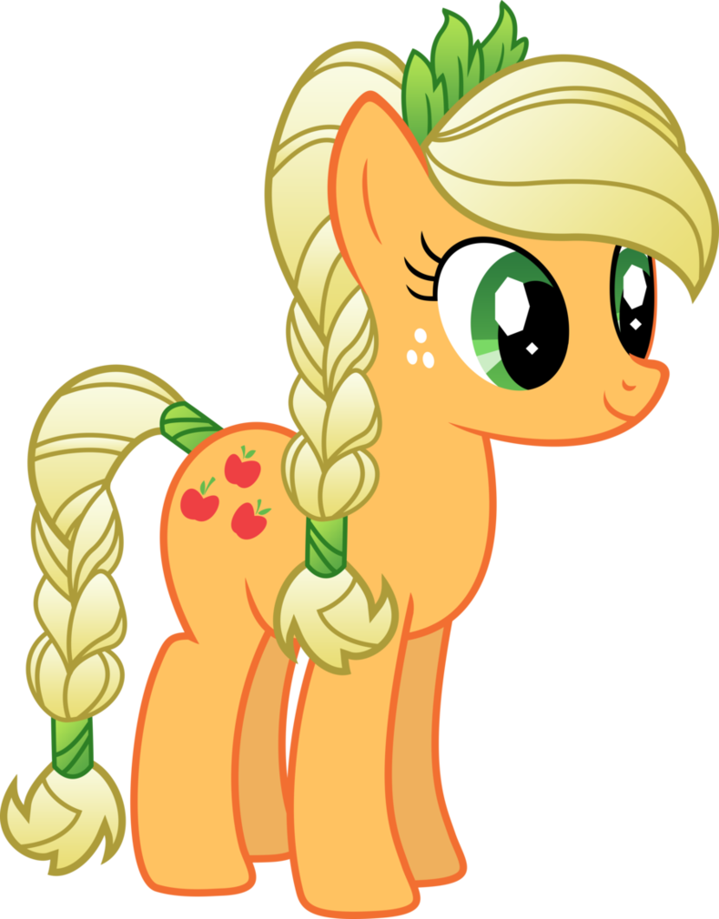 Applejack drawing magical. My little pony friendship