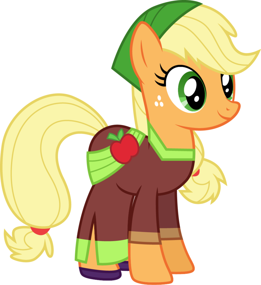 Applejack drawing magical. Movie magic by cloudyglow