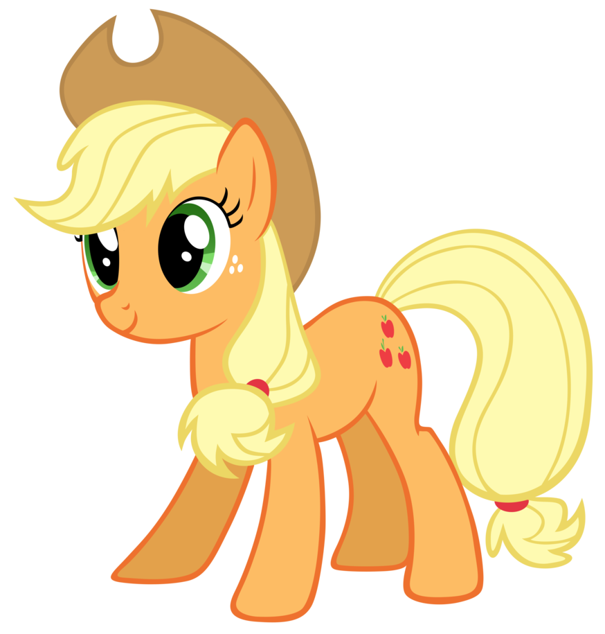 applejack drawing pup