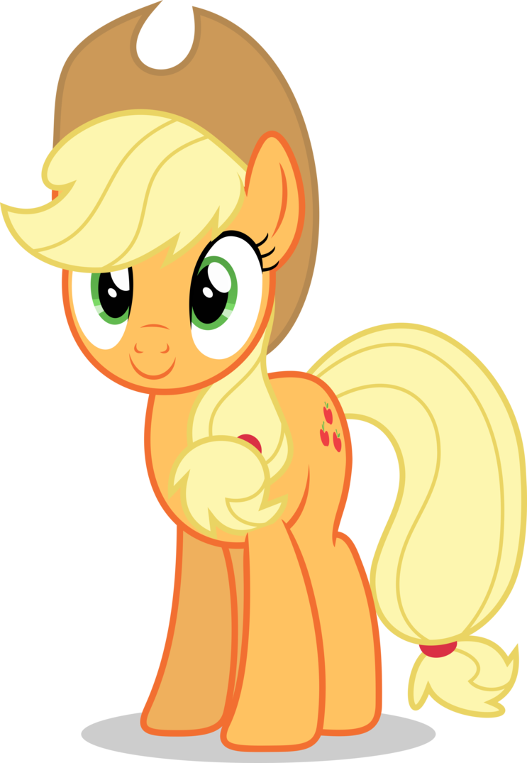 Room vector applejack. Mlp fim happy by
