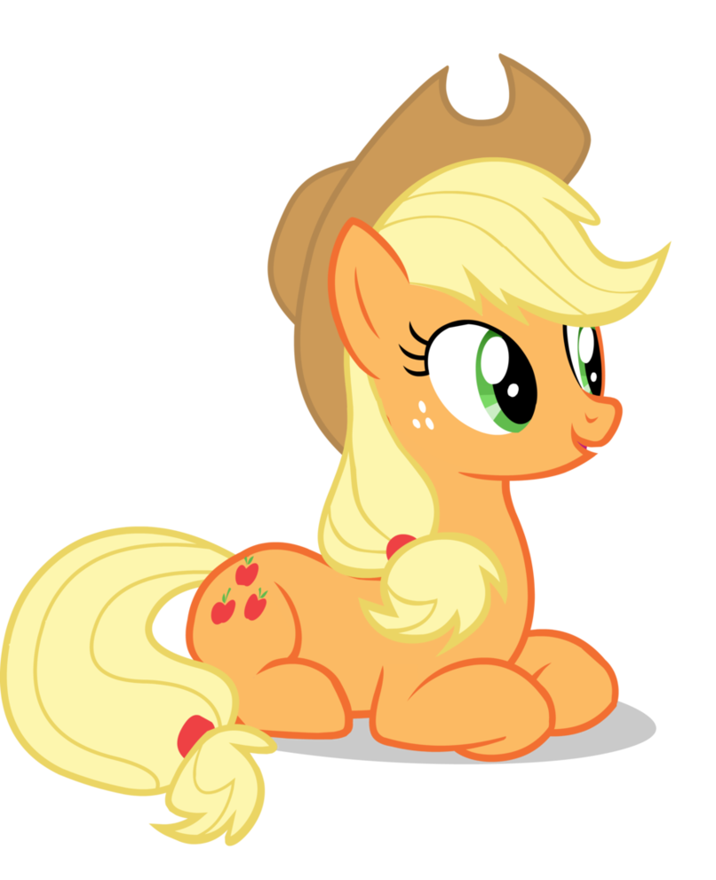 applejack transparent zombie