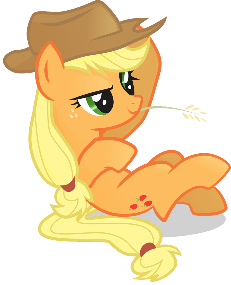 applejack transparent hat