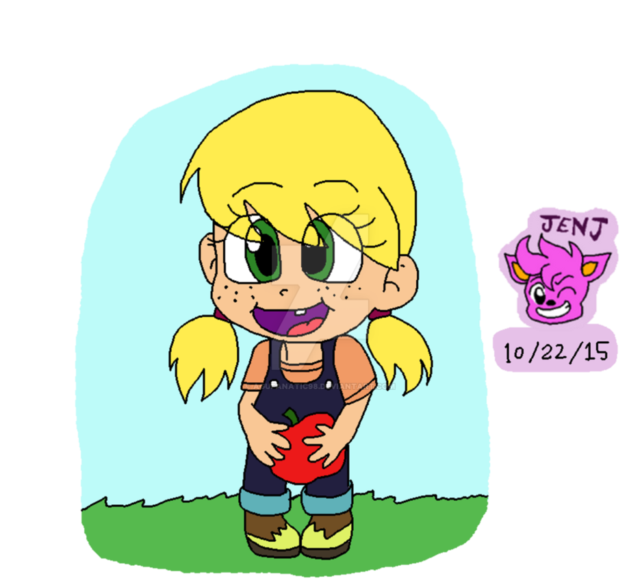 Applejack transparent baby. Mlp human world s