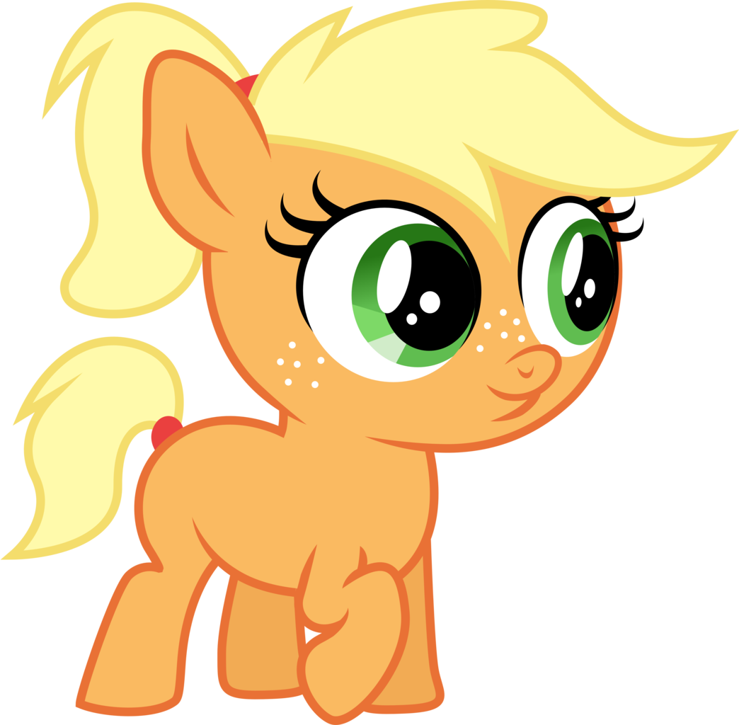 Applejack transparent poor. Year old artist