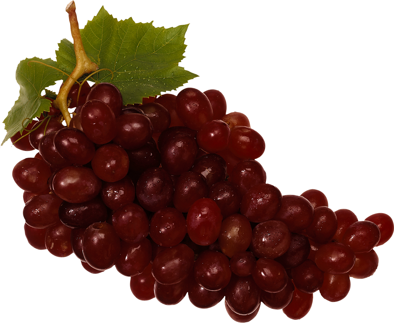 Red grapes png. Grape nineteen isolated stock
