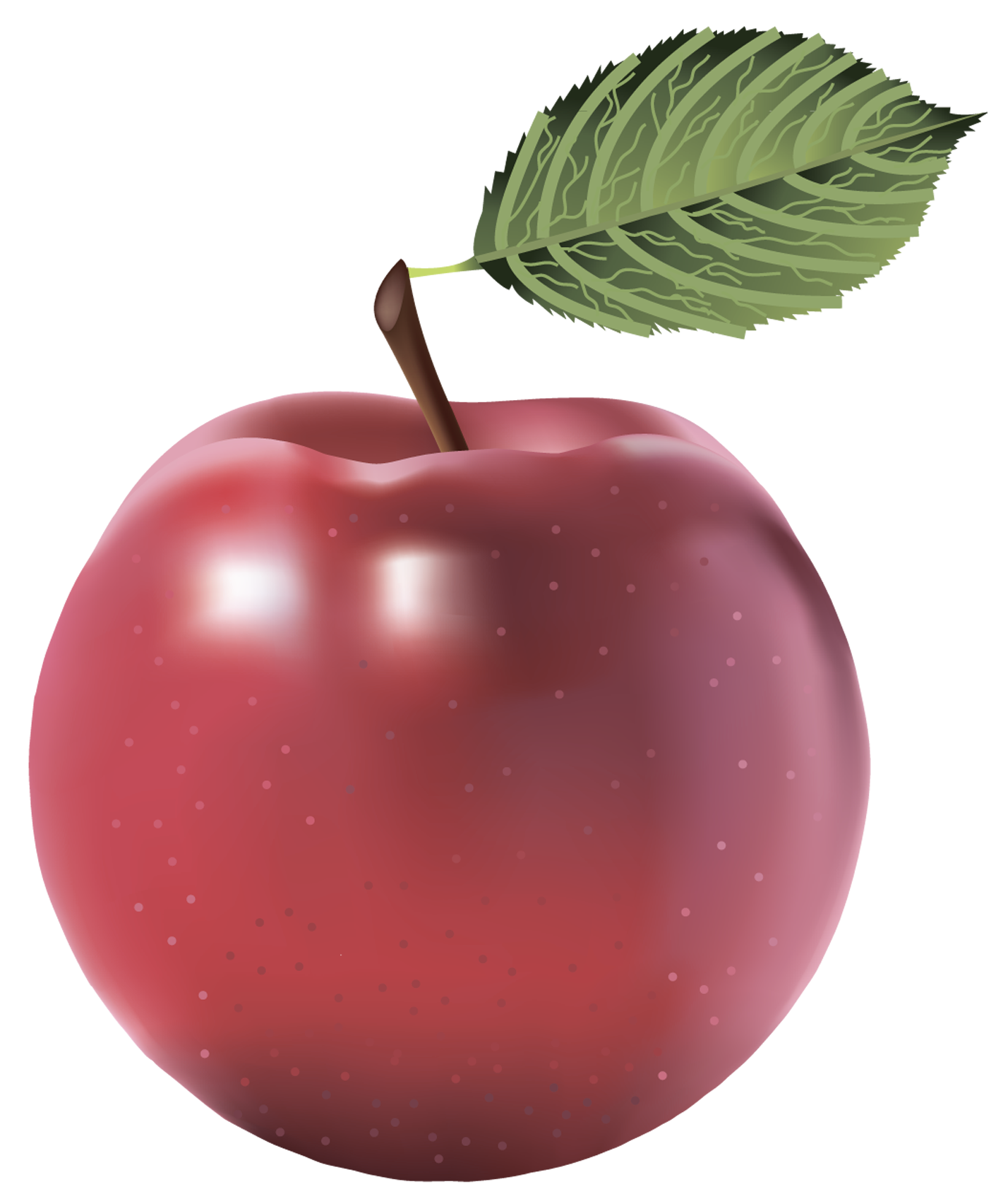 Apples border png transparent background. Large red painted apple