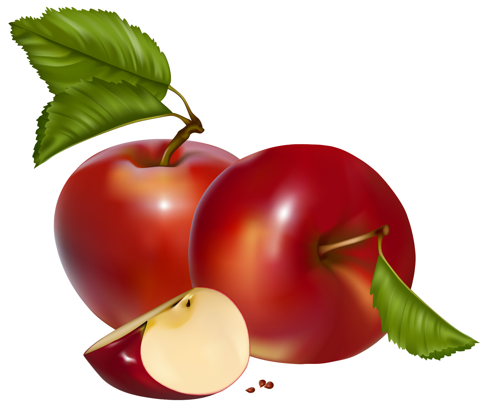 books and apples png