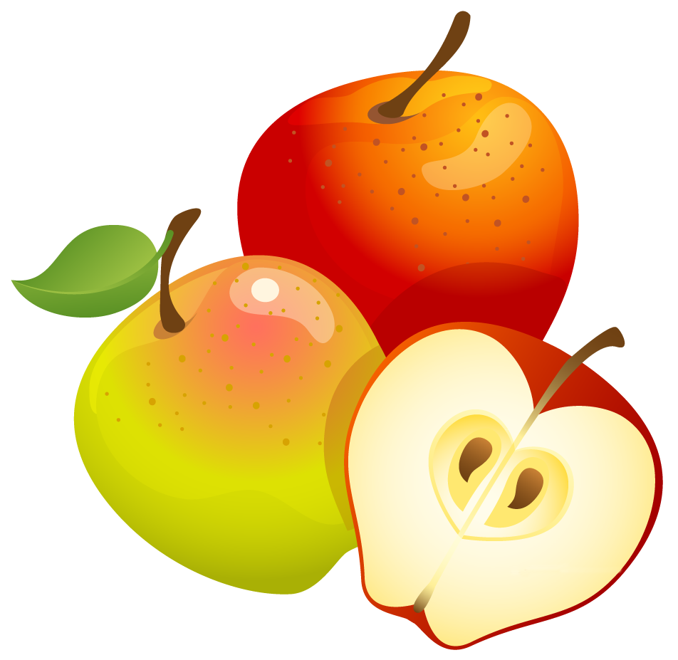 fall apples png