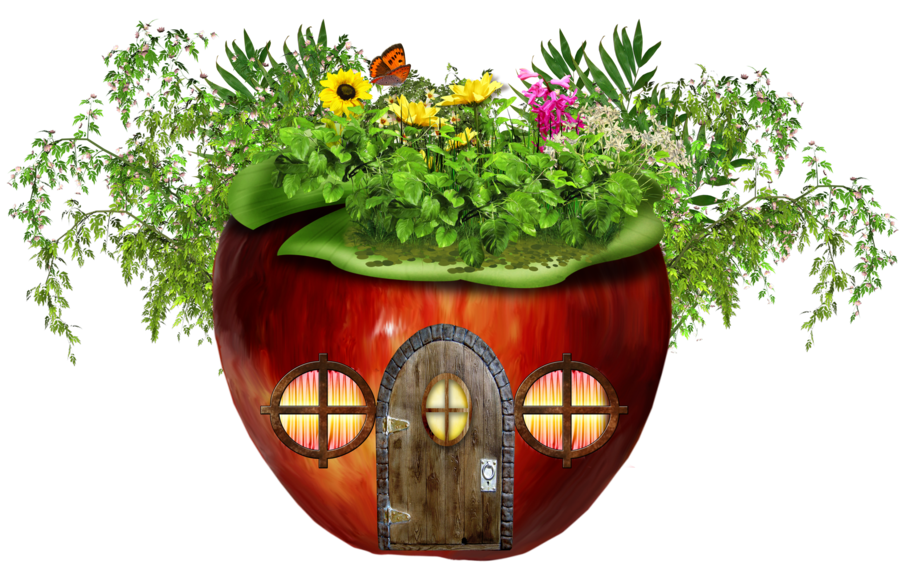 Apples clipart house. Apple pencil and in