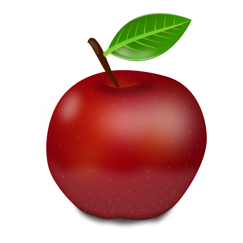 Apple png clipart. Red panda free images