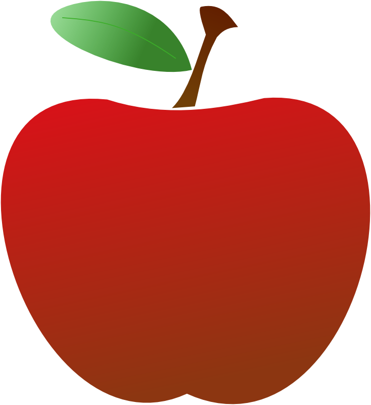 Apples vector simple. Free red apple images