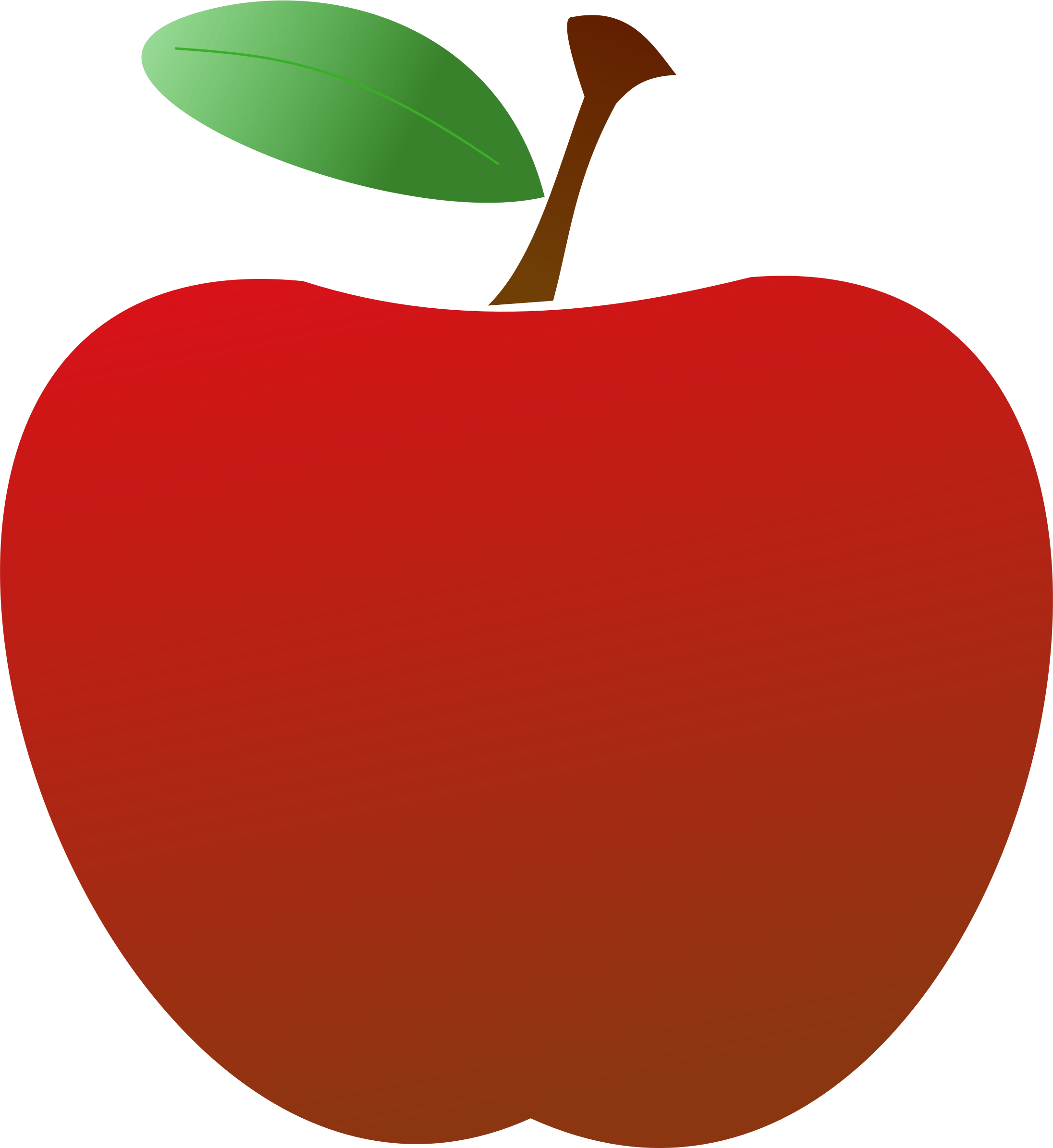 Apple cartoon png. Simple red icons free