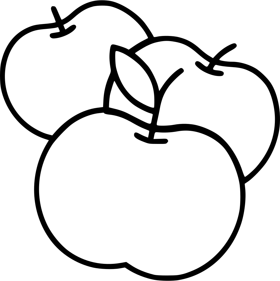 Apples drawing png. Svg icon free download