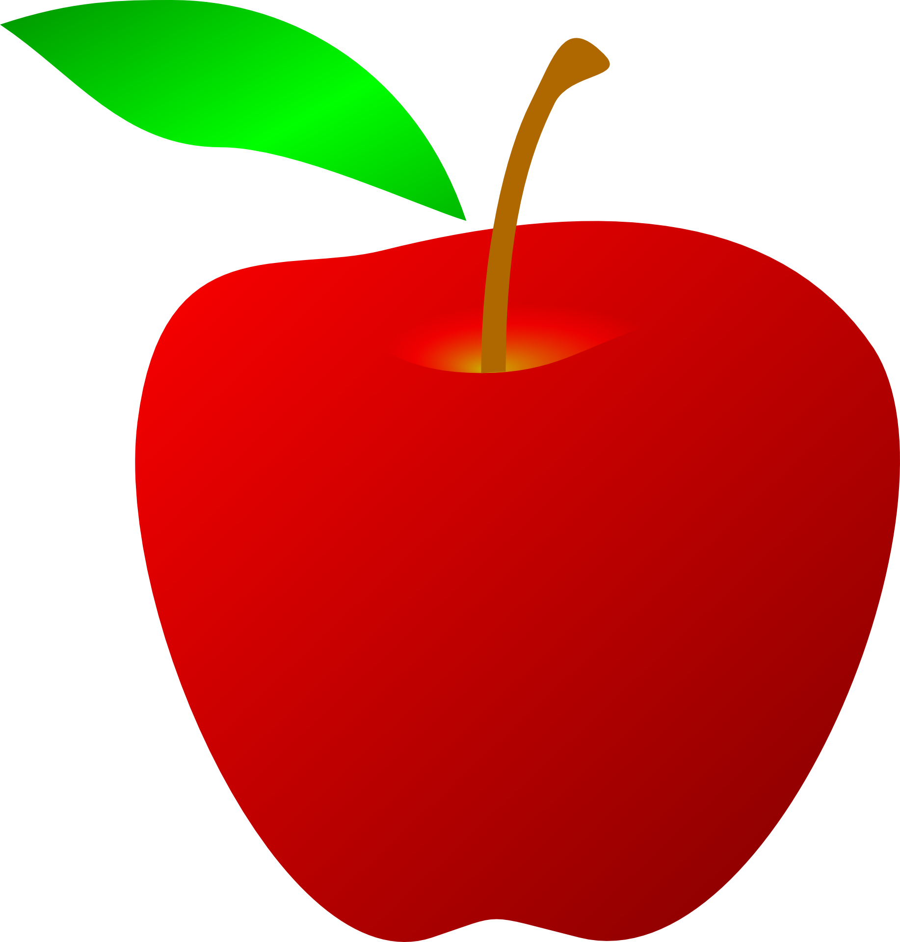 Apples drawing png. Of red apple with