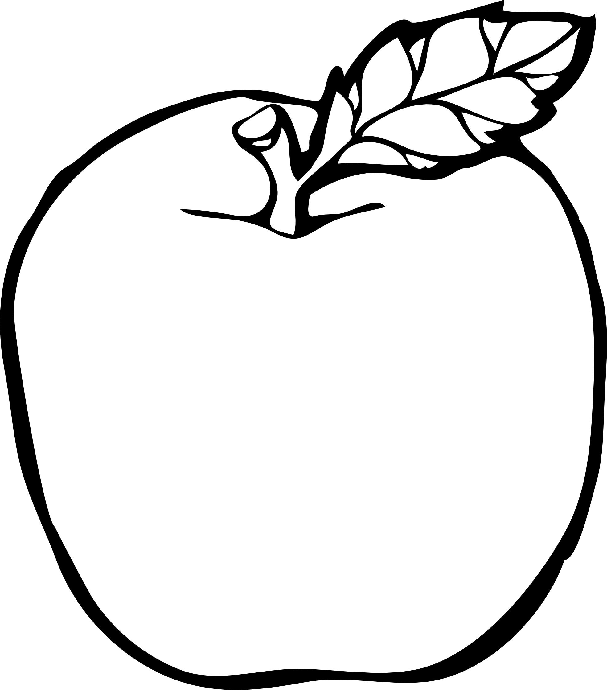 Image result for coloring. Drawing apple banner transparent download