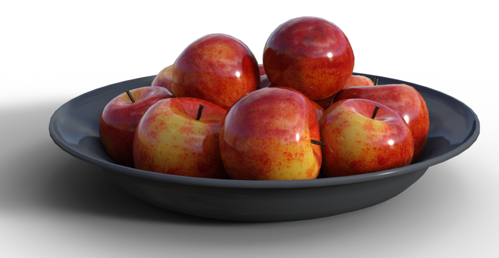 Apples photography png. Free stock bowl of