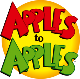 Apples to apples logo png. Q con belfast