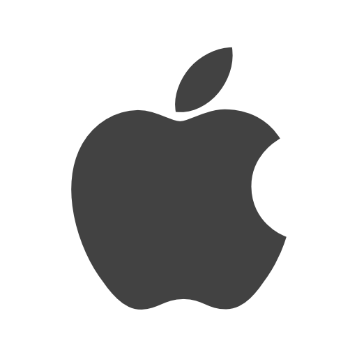 Apples vector icon. Apple free of social