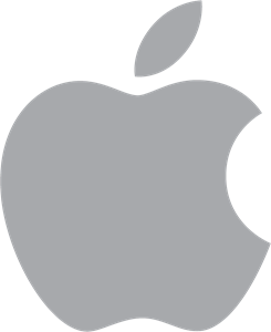 Apples vector logo. Apple ai free download