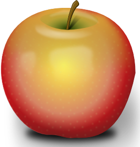 Drawing realism photorealism. Photorealistic red apple clip