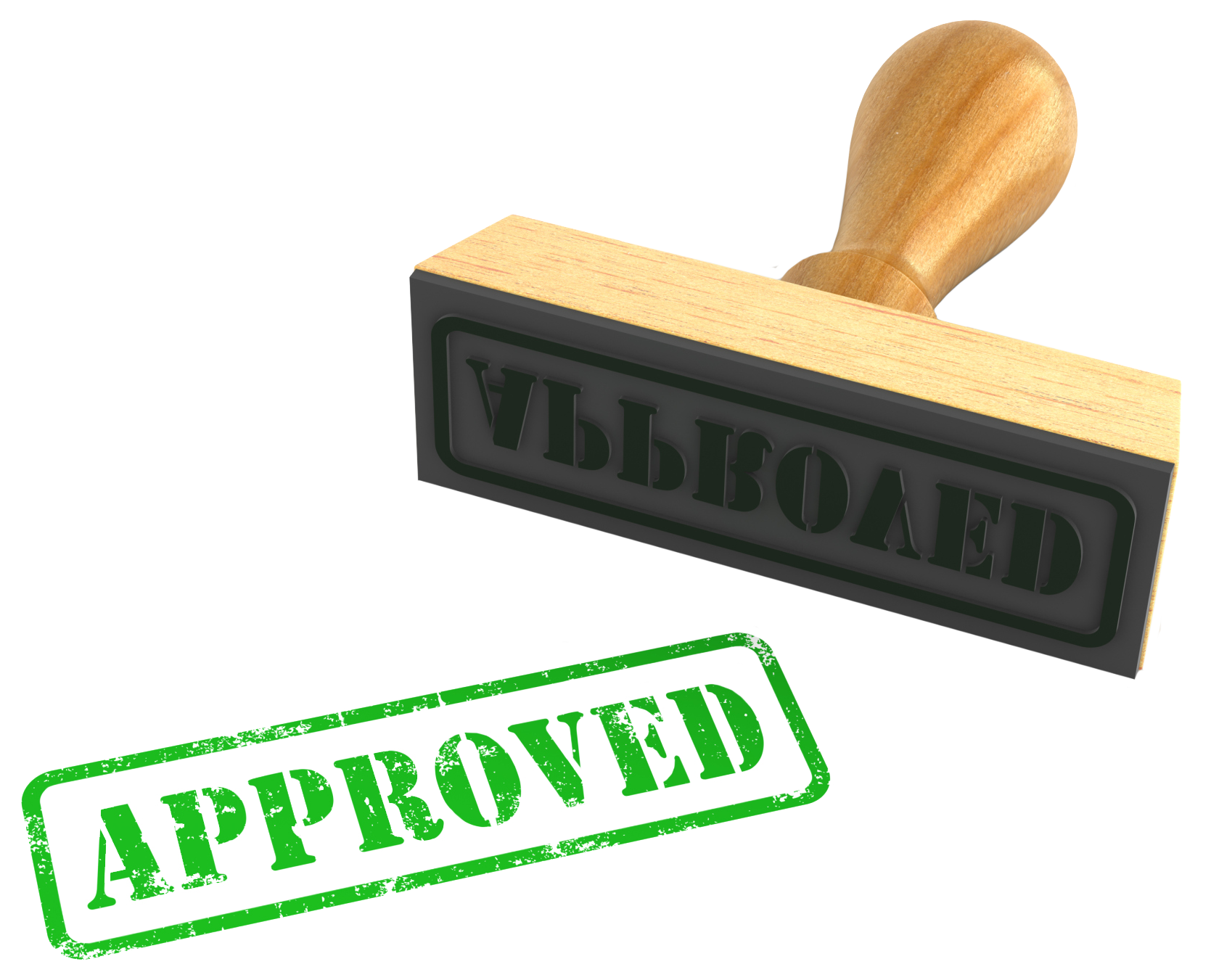Approved stamp png. Loan approval total merchant