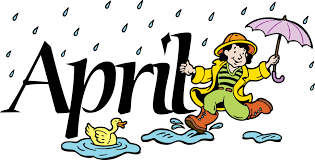 April clipart. Welcome