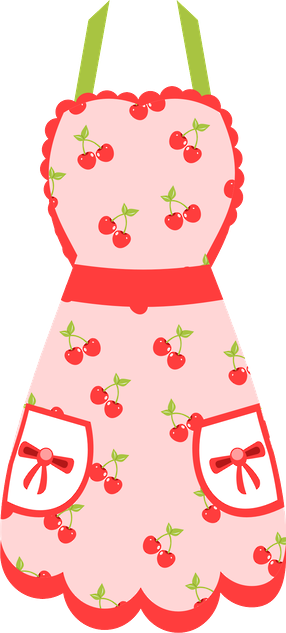 apron clipart cute dress