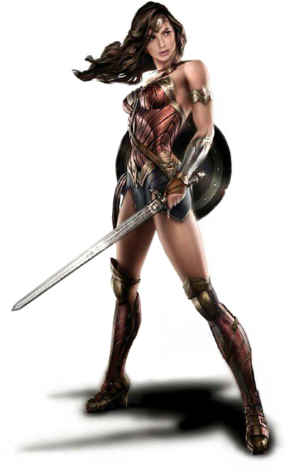 Warrior woman png