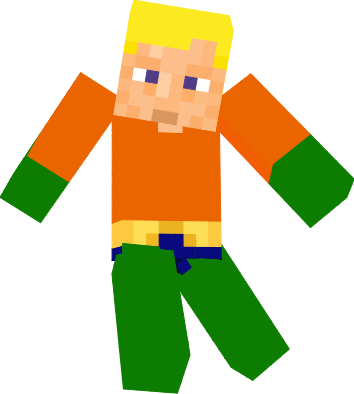 aquaman minecraft png