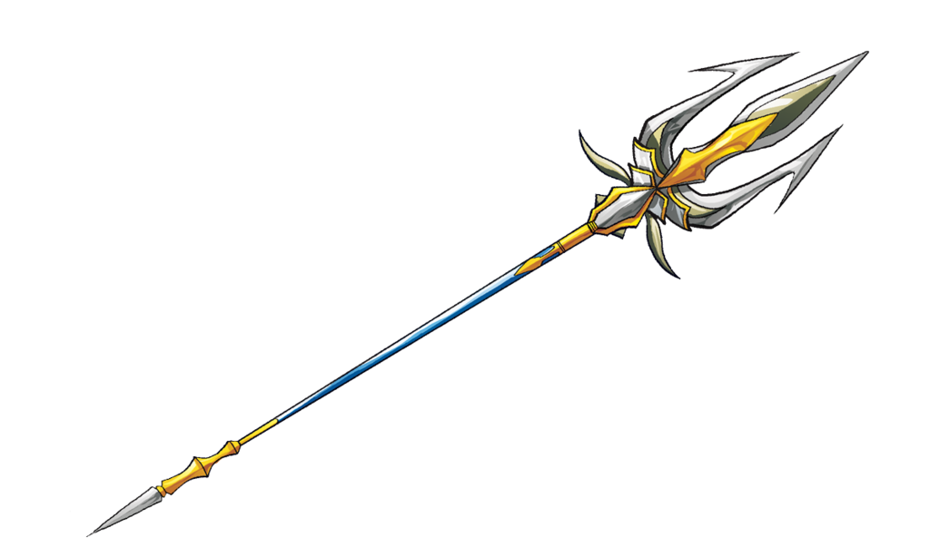 Weapon drawing spear