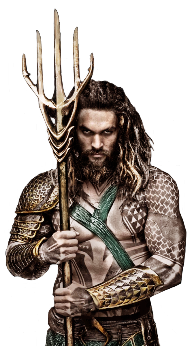 Aquaman trident png. Transparent by messypandas on