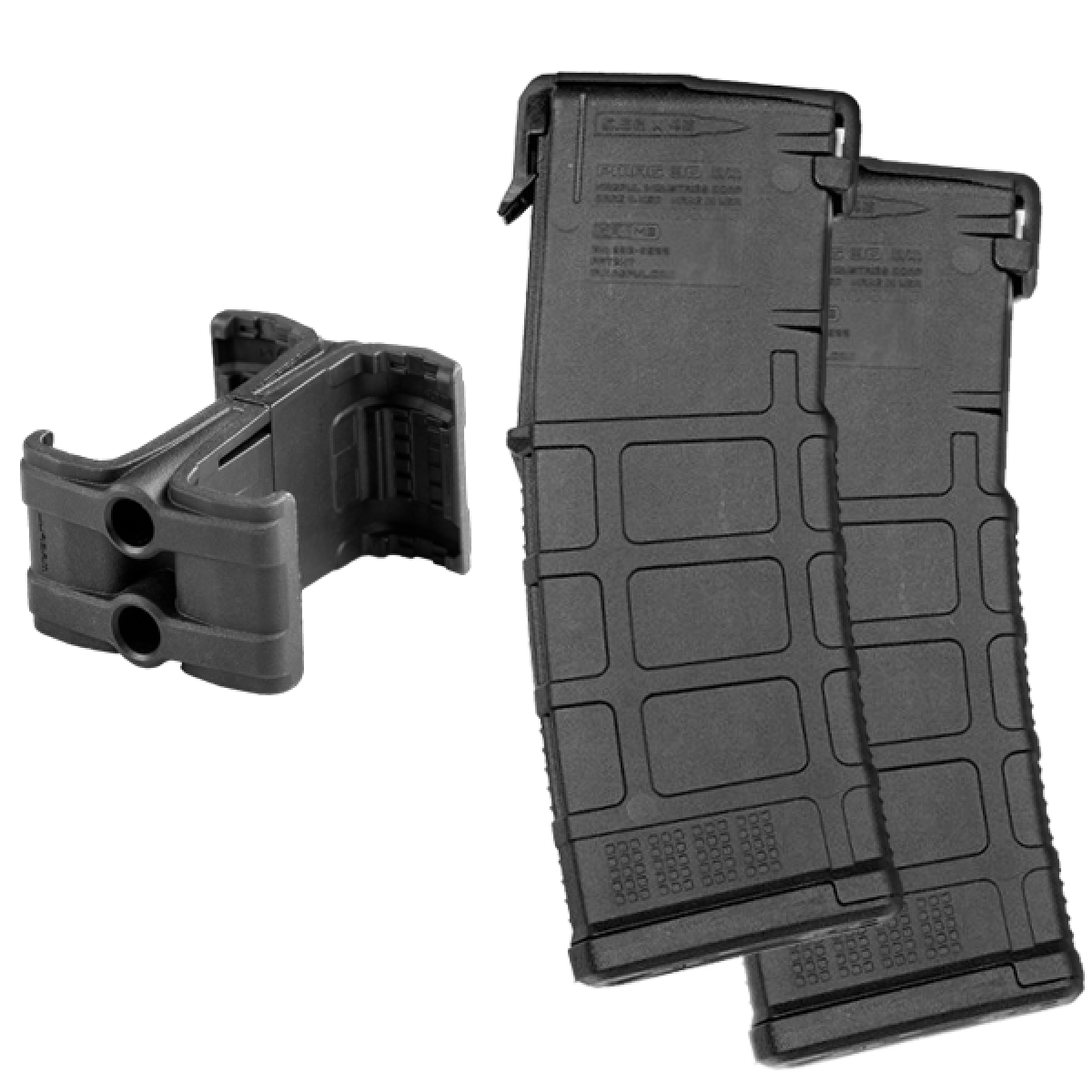 Ar clip coupler. Two magpul pmag gen