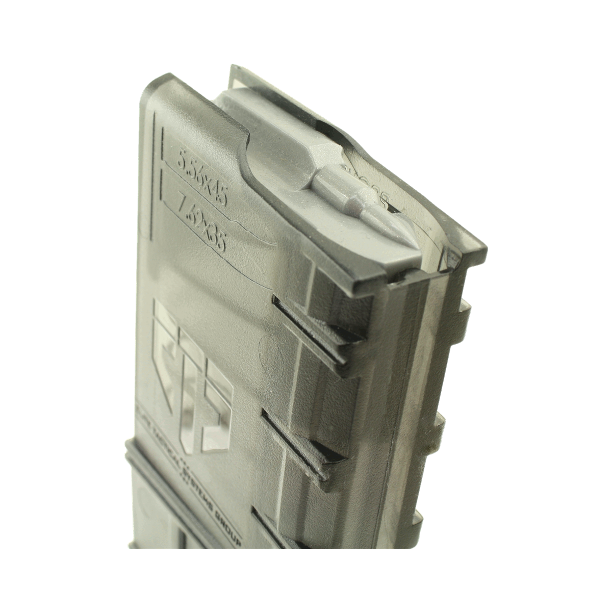 Ar clip coupler. Ets group magazine round