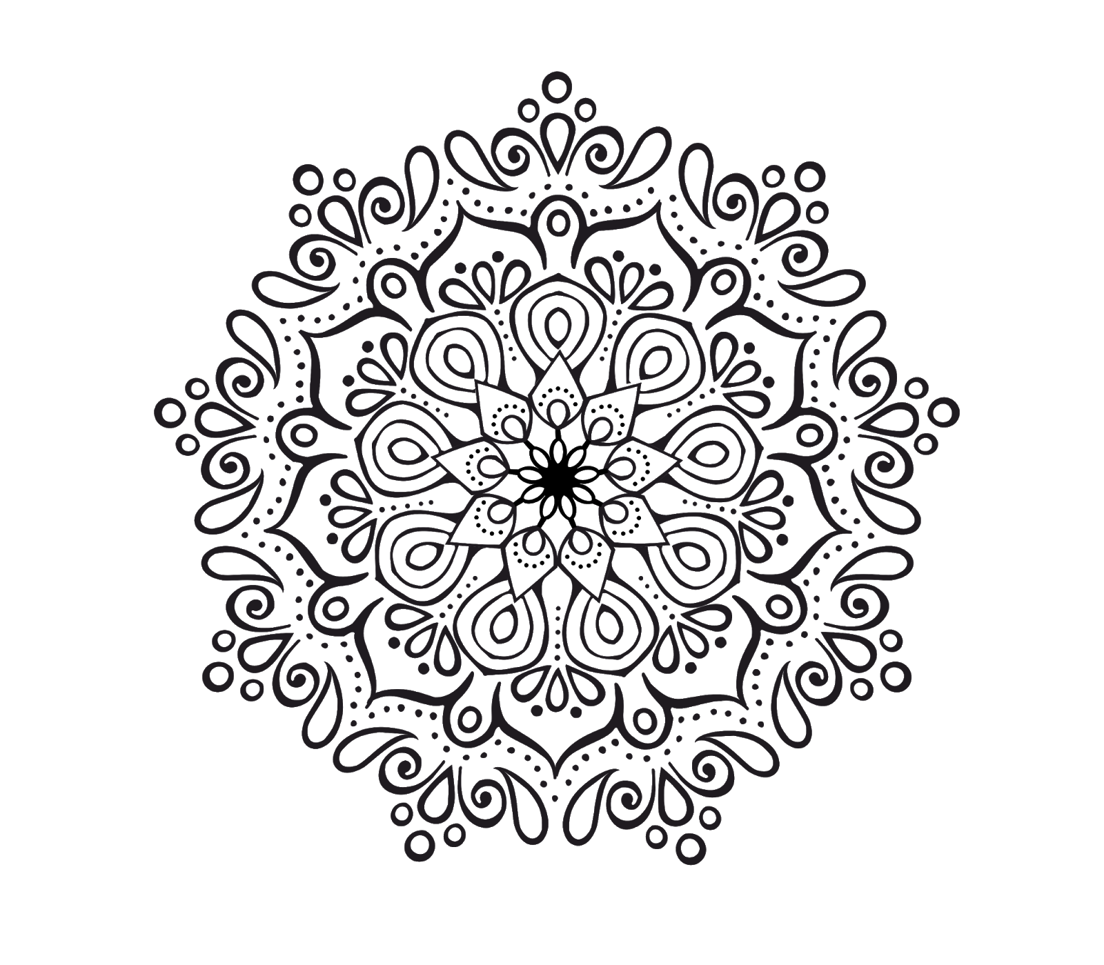 Rk graphic mandal set. Arabesque vector simple design png free