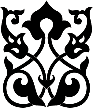 Arabesque vector decorative element. Metal work pinterest