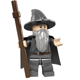 Gandalf transparent middle earth. Lego the lord of