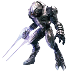Arbiter halo 5 png. Wikipedia character an alien