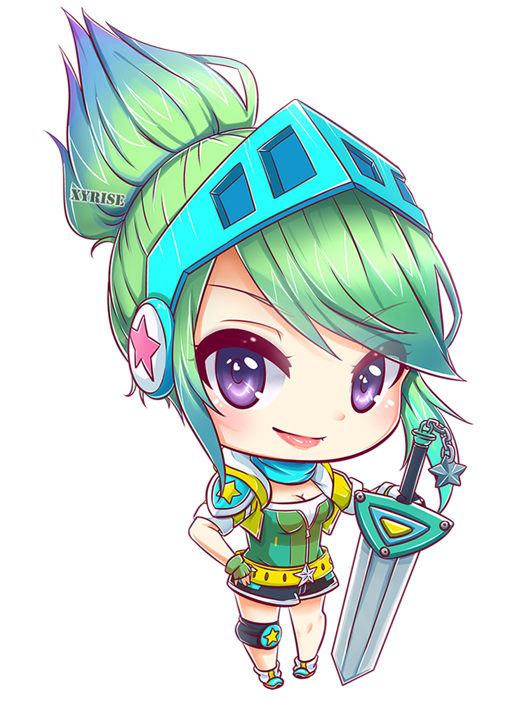 Arcade drawing anime. Riven by xyrise cartooning