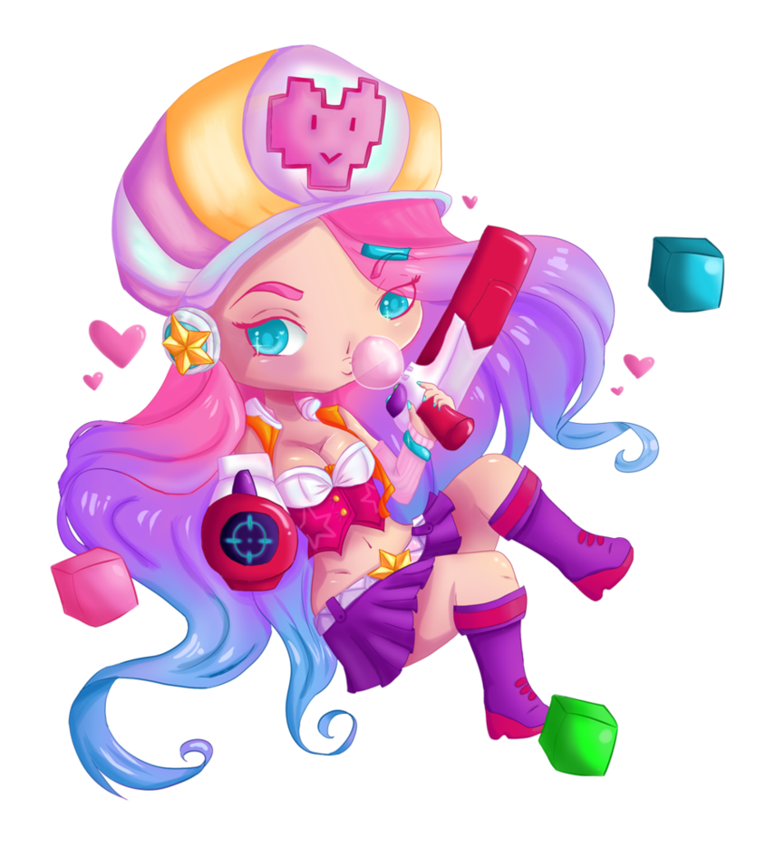 Arcade drawing chibi. League of legends miss