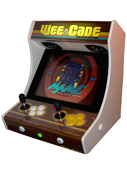 Arcade drawing game. Project mame weecade building