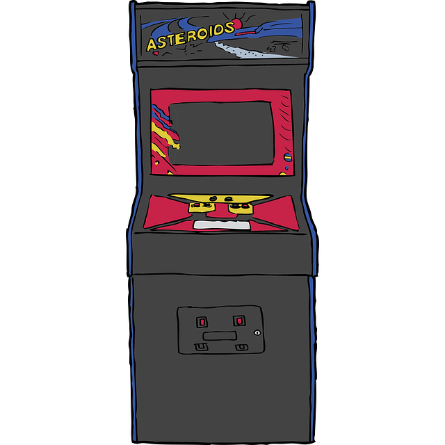 Arcade drawing video game. Png transparent library
