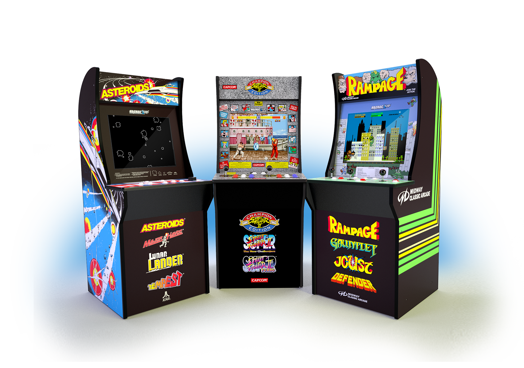 Games vector monitor. Arcade up classic for