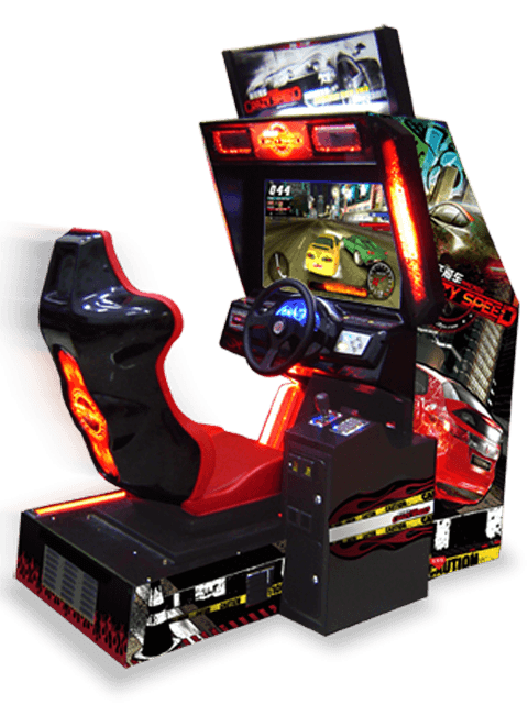 Arcade games png. Crazy speed cars pinterest