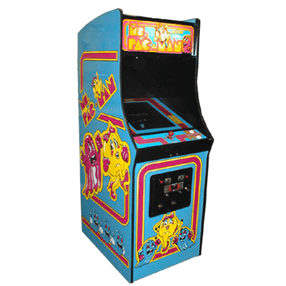 Arcade games png. New classic ms pacman