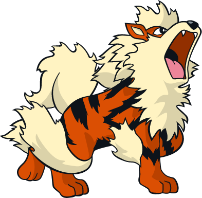 Arcanine transparent pokemon crystal. Bleed and evolve