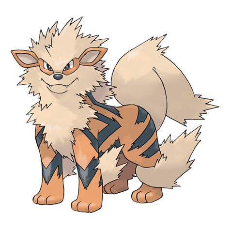growlithe drawing avatar