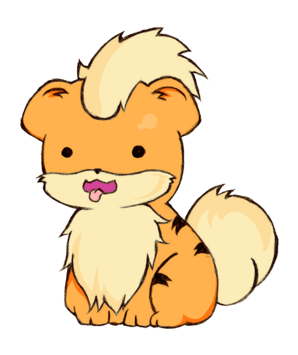 Growlithe drawing cute. Pkmn by cieaomi on
