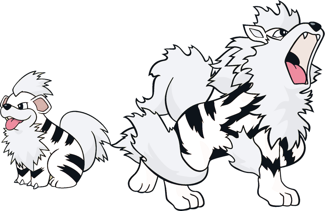 Growlithe drawing transparent. Alternate shinies and arcanine